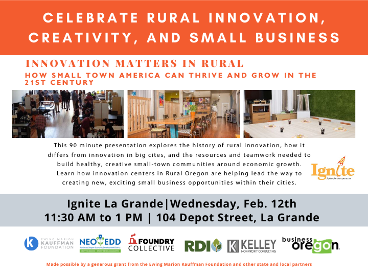 Celebrate Rural Innovation,  Creativity and Small Business